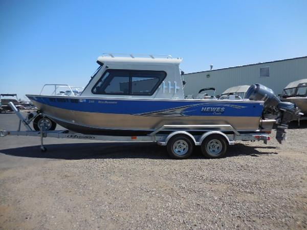 Used Hewescraft 210 Sea Runner HT Aluminum Fishing Boat For Sale