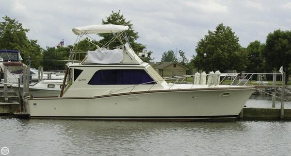 Used Egg Harbor 38 Sports Fishing Boat For Sale