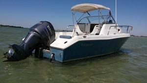 Used Tidewater 228 Walkaround228 Walkaround Fishing Boat For Sale
