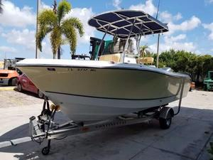 Used Polar 2100 Center Console Saltwater Fishing Boat For Sale
