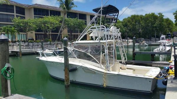 Used Albemarle 310 Express Fisherman Saltwater Fishing Boat For Sale