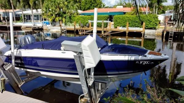 Used Monterey 217 Blackfin Ski and Fish Boat For Sale