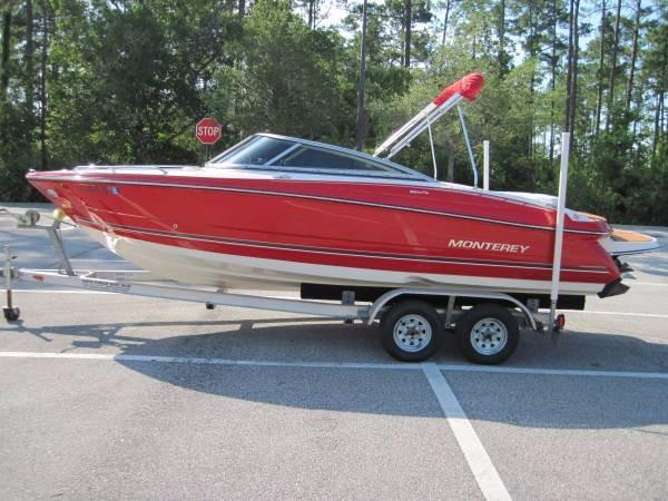 Used Monterey 224FS Runabout Boat For Sale
