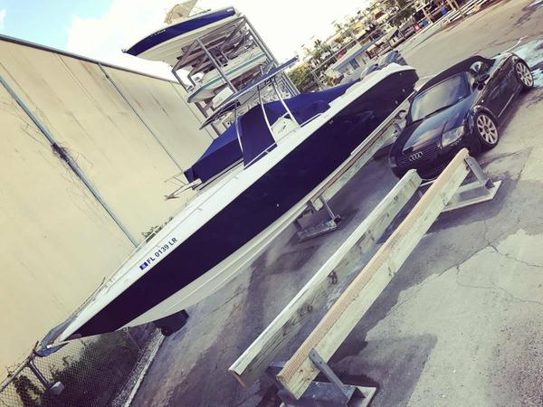Used Baja 340 Islander Outboard Saltwater Fishing Boat For Sale