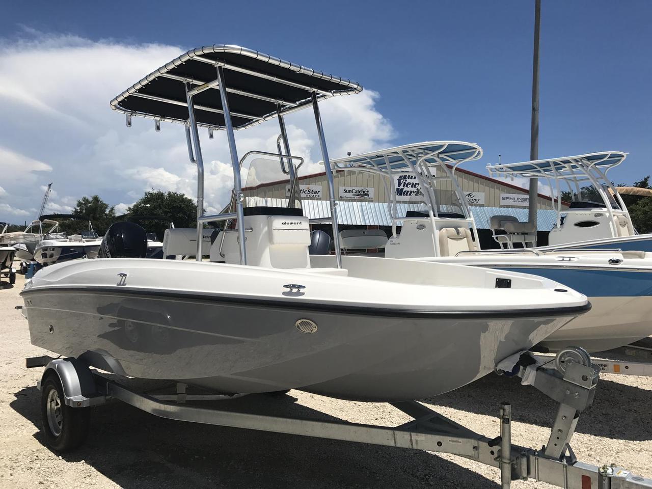 2018 new bayliner elementelement center console fishing for Center console fishing boats for sale