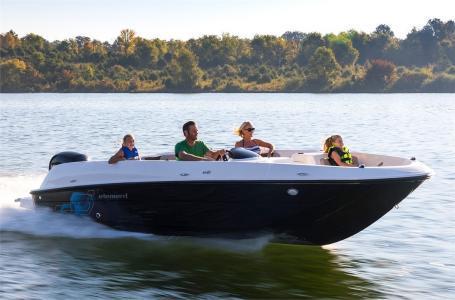 New Bayliner Deck Boat For Sale
