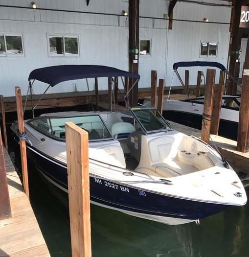 Used Monterey 214FS Runabout Boat For Sale