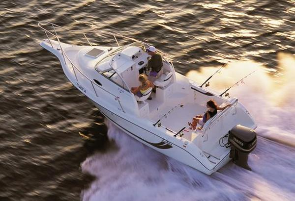 Used Cobia 230 Walk-Around Saltwater Fishing Boat For Sale