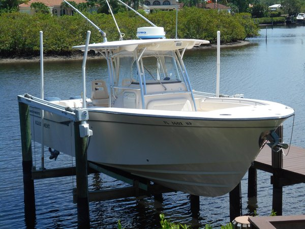 Used Grady White Bimini Center Console Fishing Boat For Sale