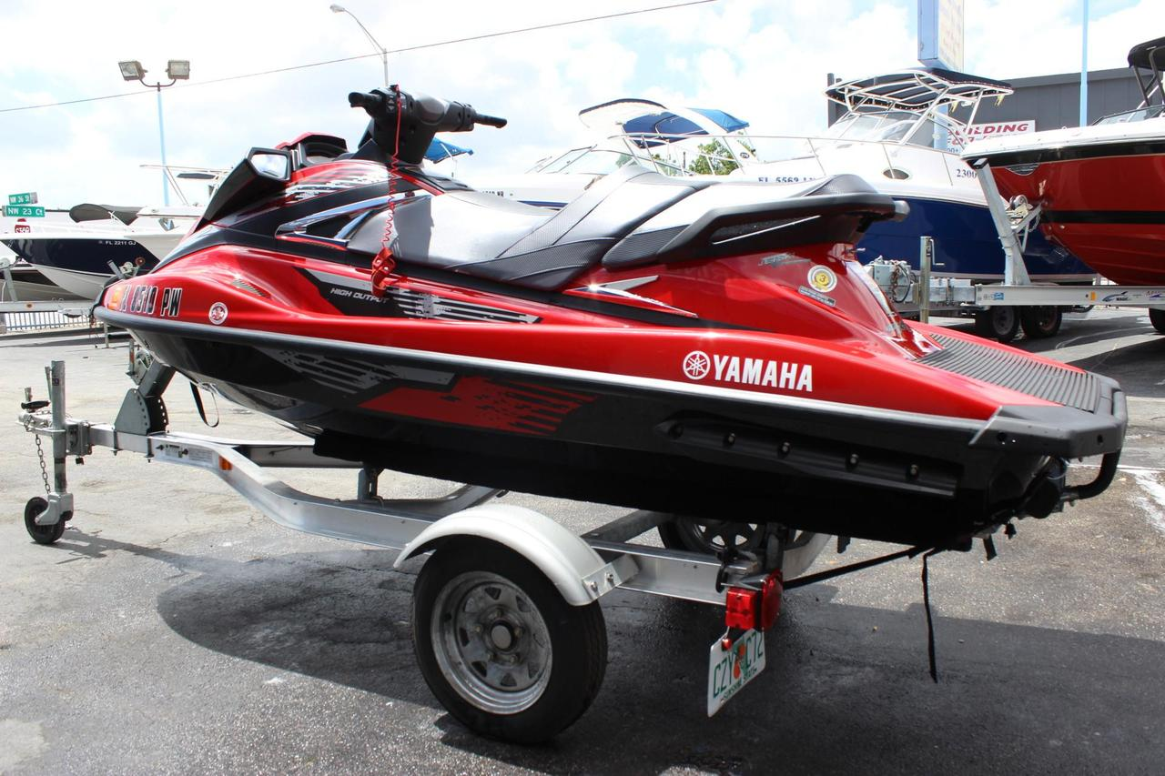 2015 used yamaha vxr personal watercraft for sale for Yamaha waverunner covers sale
