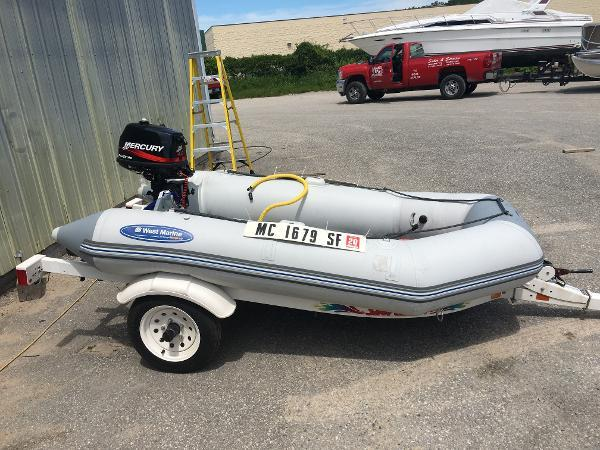 Used Zodiac Dinghy Inflatable Boat For Sale