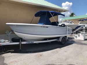 Used Laguna C-210 SC Center Console Fishing Boat For Sale