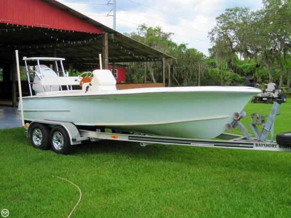 Used Bayshore Carolina Bay 20 Flats Fishing Boat For Sale