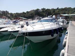 Used Cranchi Mediterranee 43 Express Cruiser Boat For Sale