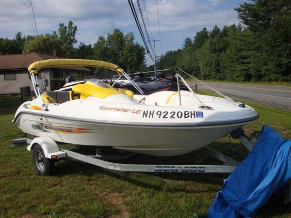 Used Bombardier Sea Doo Sportster LE Jet Boat For Sale