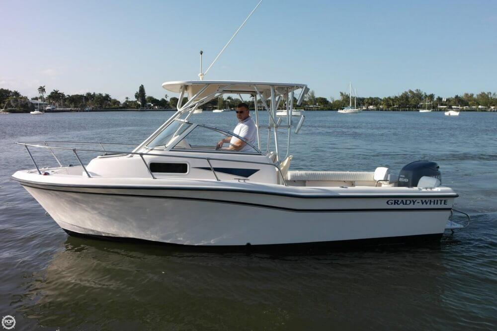 2003 used grady white 208 adventure walkaround fishing for Grady white fishing boats