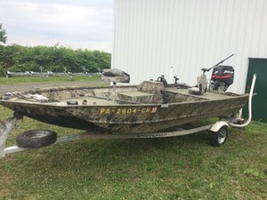Used Crestliner 1860VS Sports Fishing Boat For Sale