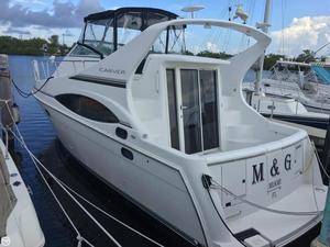 Used Carver Mariner 350 Express Cruiser Boat For Sale