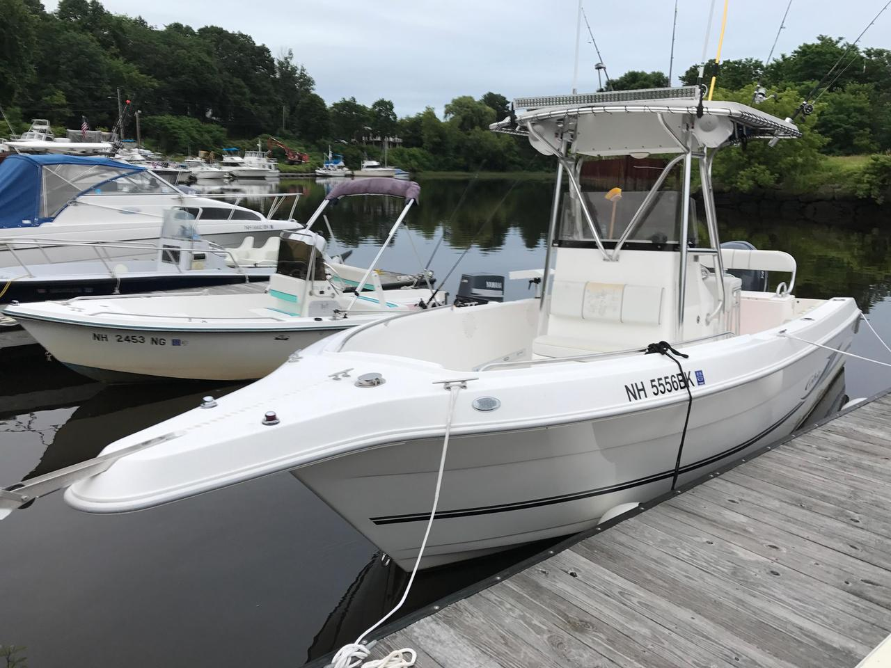 2004 used cobia center console fishing boat for sale for Fishing boats for sale