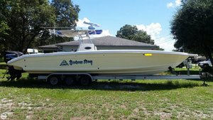 Used Palmetto 36 Open Center Console Fishing Boat For Sale