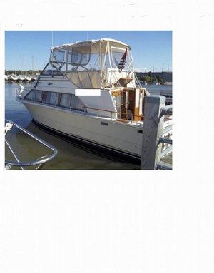 Used Carver 3396 Mariner Sports Fishing Boat For Sale
