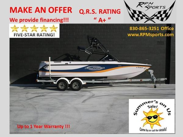 Used Correct Craft Super Air Nautique 210 Ski and Wakeboard Boat For Sale