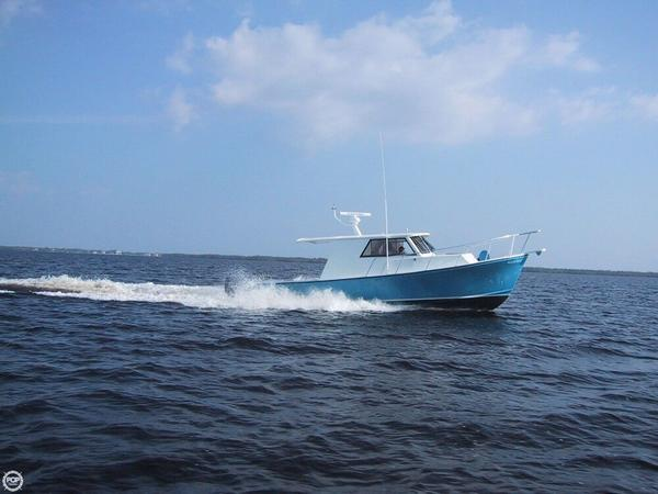 Used Crusader 34 Express Fisherman Pilothouse Boat For Sale