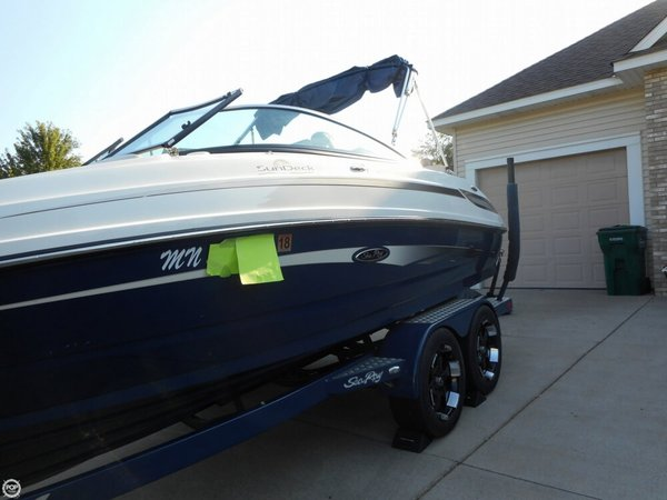 Used Sea Ray Sundeck 220 Bowrider Boat For Sale