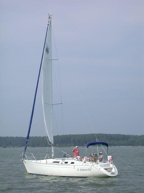 Used Dufour 35 Classic Racer and Cruiser Sailboat For Sale