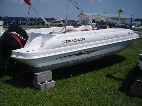 Used Starcraft 2000 OB Limited Deck Boat For Sale