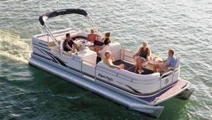 Used Aqua Patio 240 LE Pontoon Boat For Sale