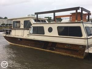Used Holiday Mansion Coastal Barracuda 38 House Boat For Sale