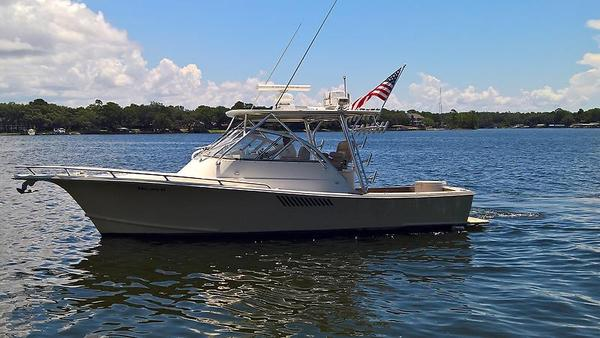 Used Shamrock 31 Grand Slam Saltwater Fishing Boat For Sale