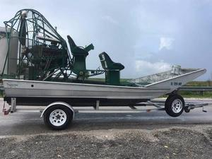 Used Diamondback Airboat 14 Air Boat For Sale