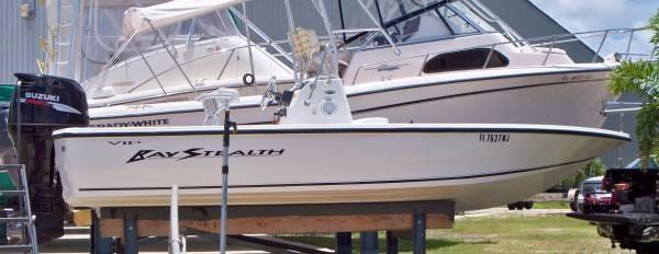 Used Bay Stealth 2150 VIP Center Console Fishing Boat For Sale
