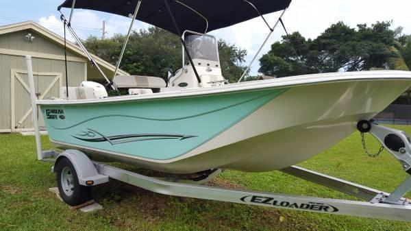 Used Carolina Skiff 178 DLV Saltwater Fishing Boat For Sale