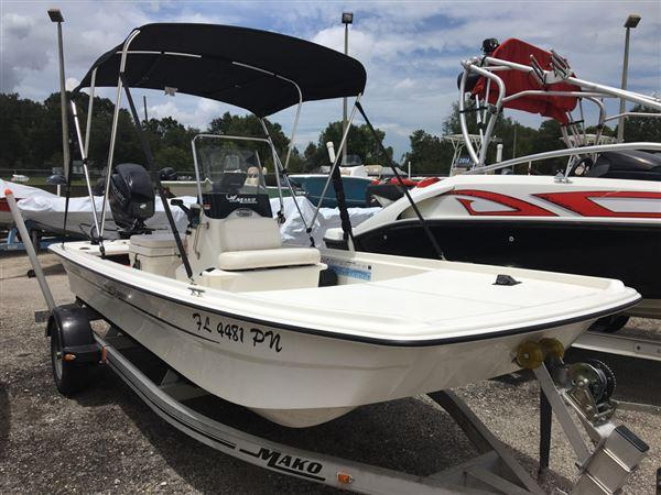 Used Mako Boats Pro 16 Skiff CC Skiff Boat For Sale