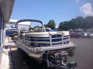 Used Palm Beach 220 ultra Pontoon Boat For Sale