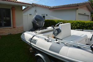 Used Novurania Hard Bottom Inflatable RIb Dinghie Boat For Sale