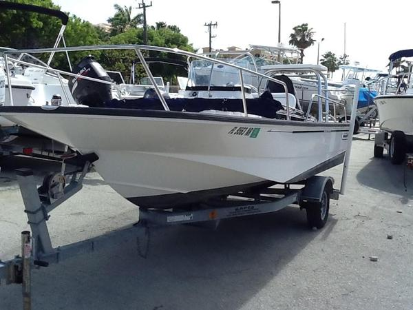 Used Boston Whaler 17 Montauk Saltwater Fishing Boat For Sale