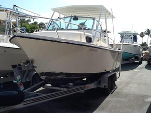Used Parker 2110 Walkaround Saltwater Fishing Boat For Sale