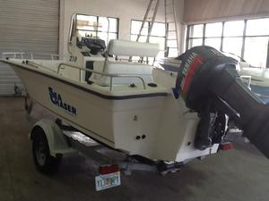Used Sea Chaser 210 Bay Center Console Fishing Boat For Sale