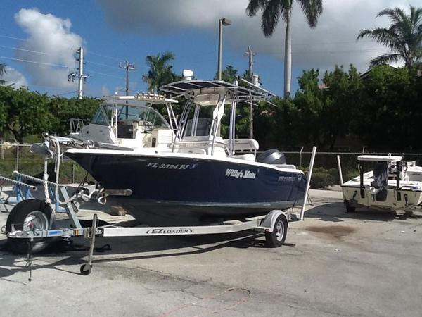 Used Key West 203 FS Saltwater Fishing Boat For Sale