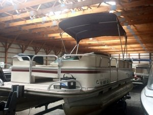Used Fisher Boats FREEDOM 200 DLX Pontoon Boat For Sale