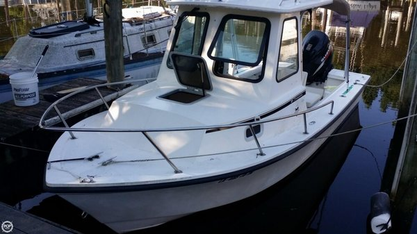 Used Steiger Craft Chesapeake 21 Pilothouse Boat For Sale