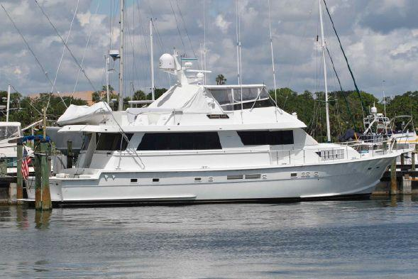 Used Hatteras 74 Cpmy Motor Yacht For Sale