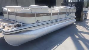 Used Harris Flotebote Kayot 220 Pontoon Boat For Sale