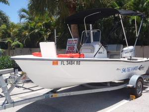 Used Bimini Boats 166cc Center Console Fishing Boat For Sale