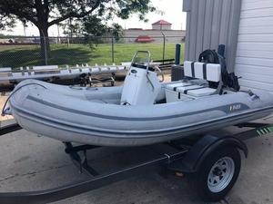 Used Ab Inflatables Oceanus 12 VST Inflatable Boat For Sale