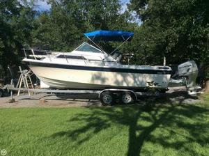 Used Wellcraft 248 Sportsman Walkaround Fishing Boat For Sale